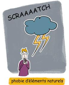 Phobies des orages