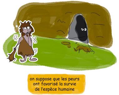 Peurs et phobies : leurs origines