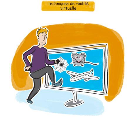 techniques de réalité virtuelle