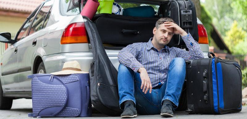Quand certains angoissent à l'idée de voyager !